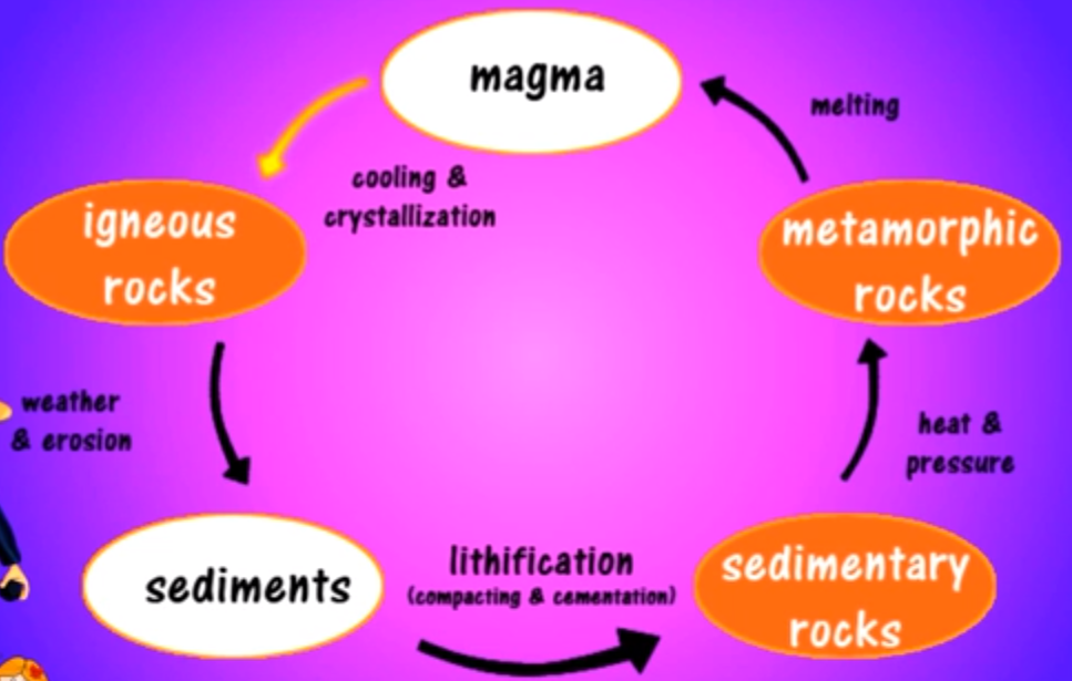 Draw A Diagram Of The Rock Cycle Draw Free Engine Image