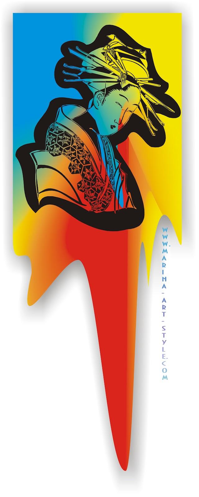 Аватар – изображение, иногда юзерпик ...: www.marina-art-style.com/2012/07/coreldraw-x3.html