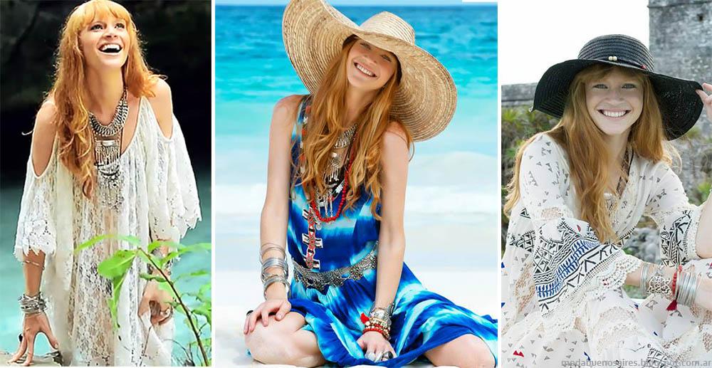 Moda primavera verano 2015. Bendito Pie primavera verano 2015 vestidos y túnicas.