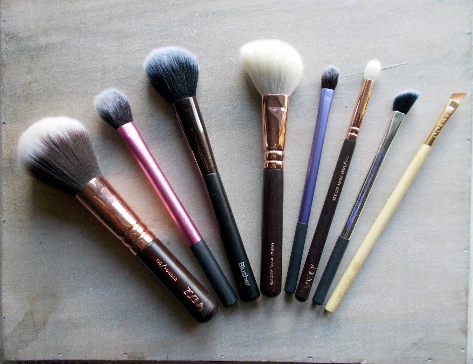 favourite makeup brushes zoeva real techniques no7 boots