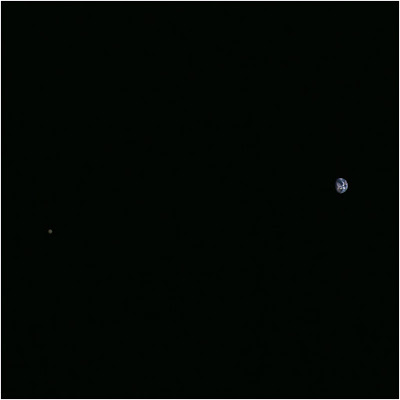 כדור הארץ והירח. חללית Hayabusa 2