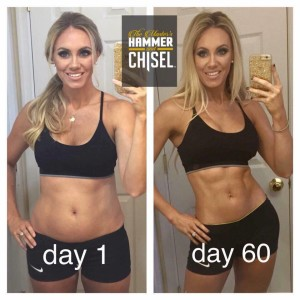 The Master's Hammer and Chisel results, Support and accountability group, Get Lean, Lose weight, www.HealthyFitFocused.com, Julie Little Fitness