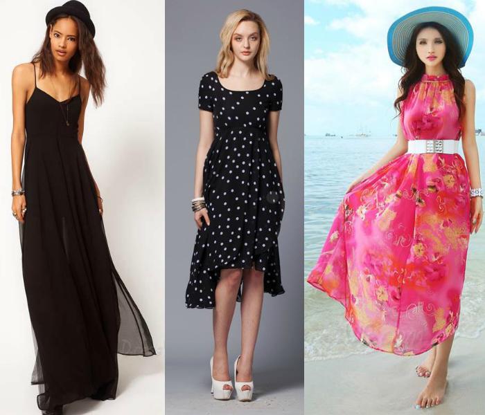 romantic floral prints cheap maxi dresses