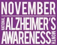 alzheimers awareness month logo