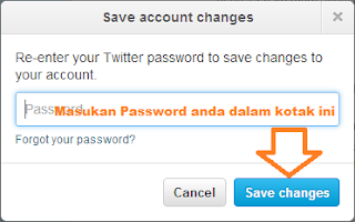 Password Akun Email Twitter