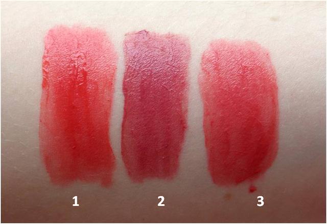 Bourjois Rouge Edition Velvet, swatches, Peach Club, Nude-ist, Happy Nude Year
