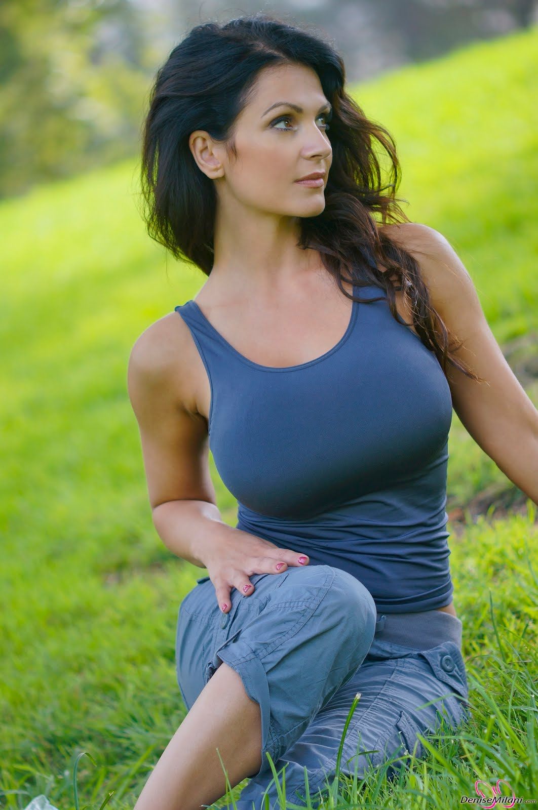 Cute Denise Milani latest HD Photoshoot in Park | Gallery ...