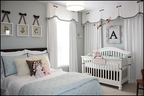 Sharing a Room Decorating Ideas with Baby