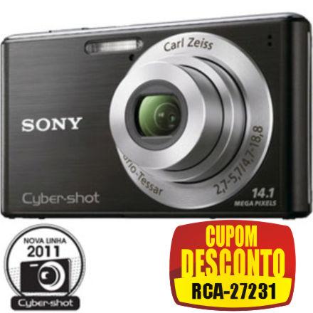 Cupom Efácil - Câmera Digital Sony DSC-W530 14.1 MP