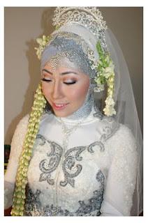Foto Hijab Modern Untuk Akad Nikah