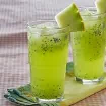 Resep Puch Melon Timun Bintik
