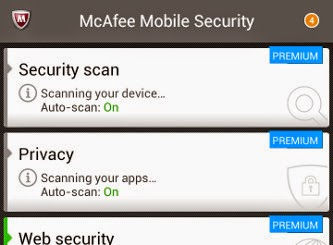 McAfee Antivirus & Security 3.1 Premium