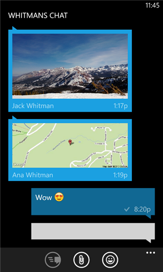 WhatsApp for Windows Phone 8 and 8.1