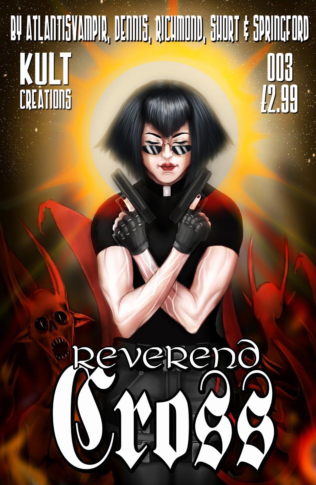 Buy REVEREND CROSS issue 003 BELOW!