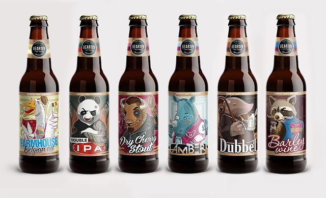 cat beer bottle animal - photo #20