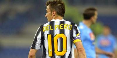 Sejarah No. 10 Juventus