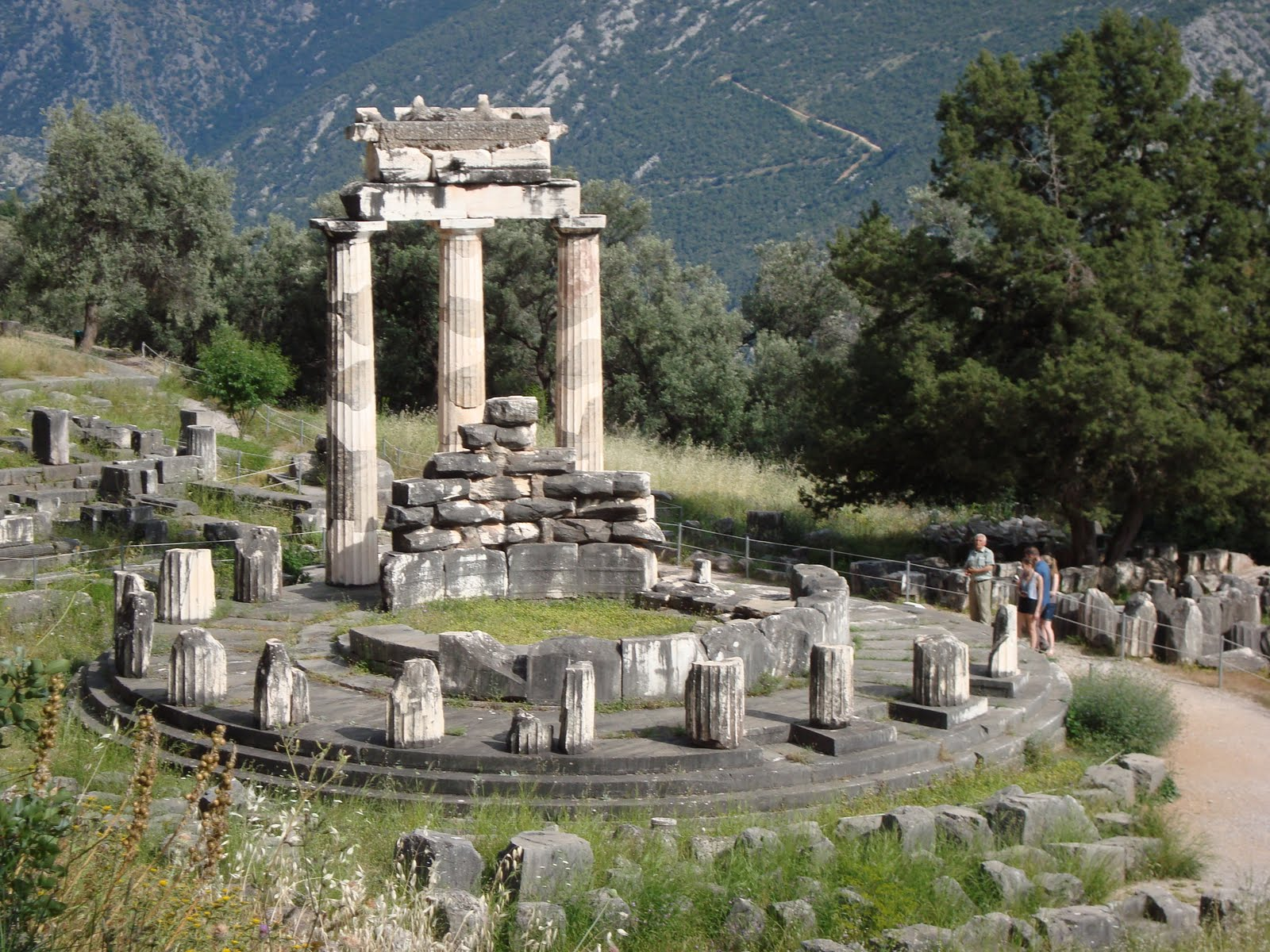 John And Carrie Go To Greece: Delphi