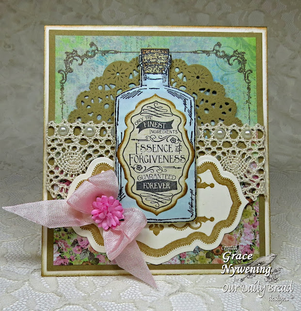 ODBD stamps: Joy in a Jar, Apothecary Bottles, Antique Labels designs, designed by Grace Nywening