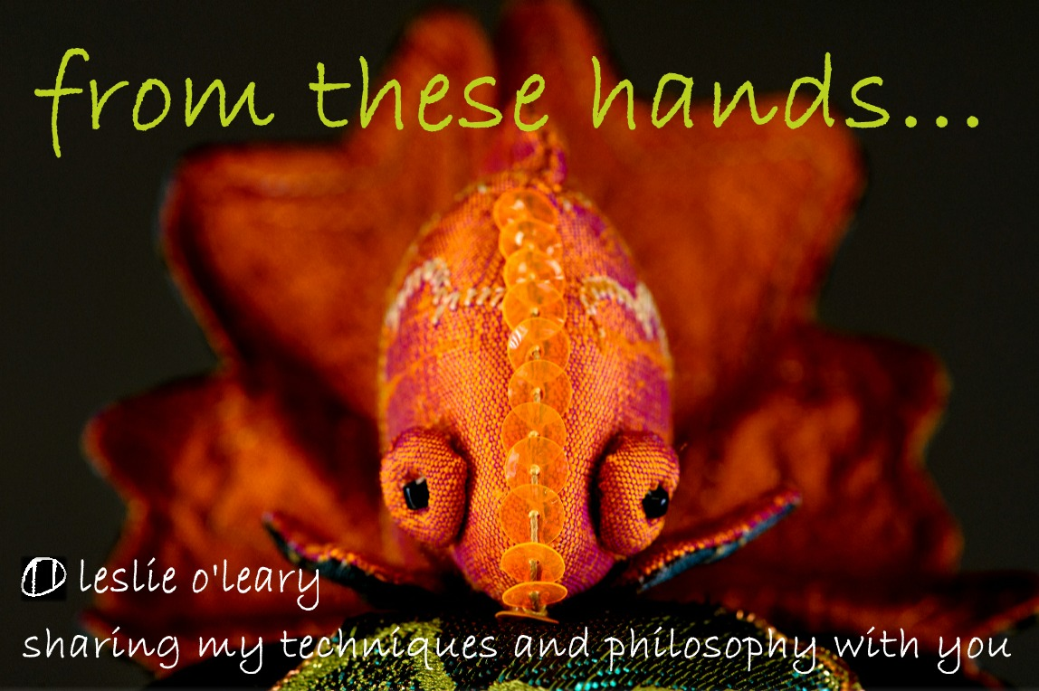 from these hands...