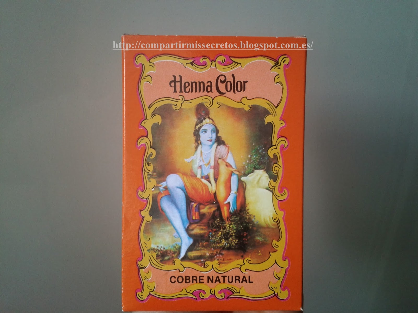 Compartir Mis Secretos Henna En Polvo Radhe Shyam