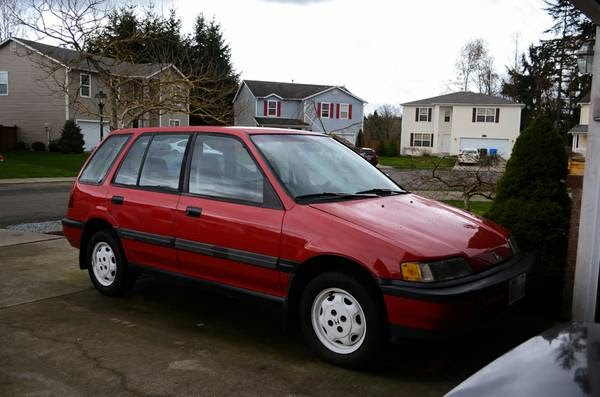 1989 honda civic wagon rt4wd