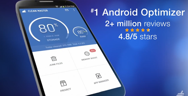 Clean Master - Optimiza tu android