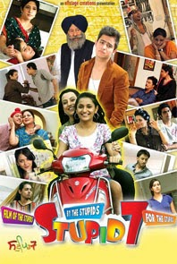 Watch Stupid 7 (2013) Punjabi Full Hindi Movie DVDRip Watch Online For Free Download