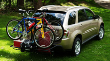 Hitch Carriers and other Tips to Make the Most of Your Small RV Space