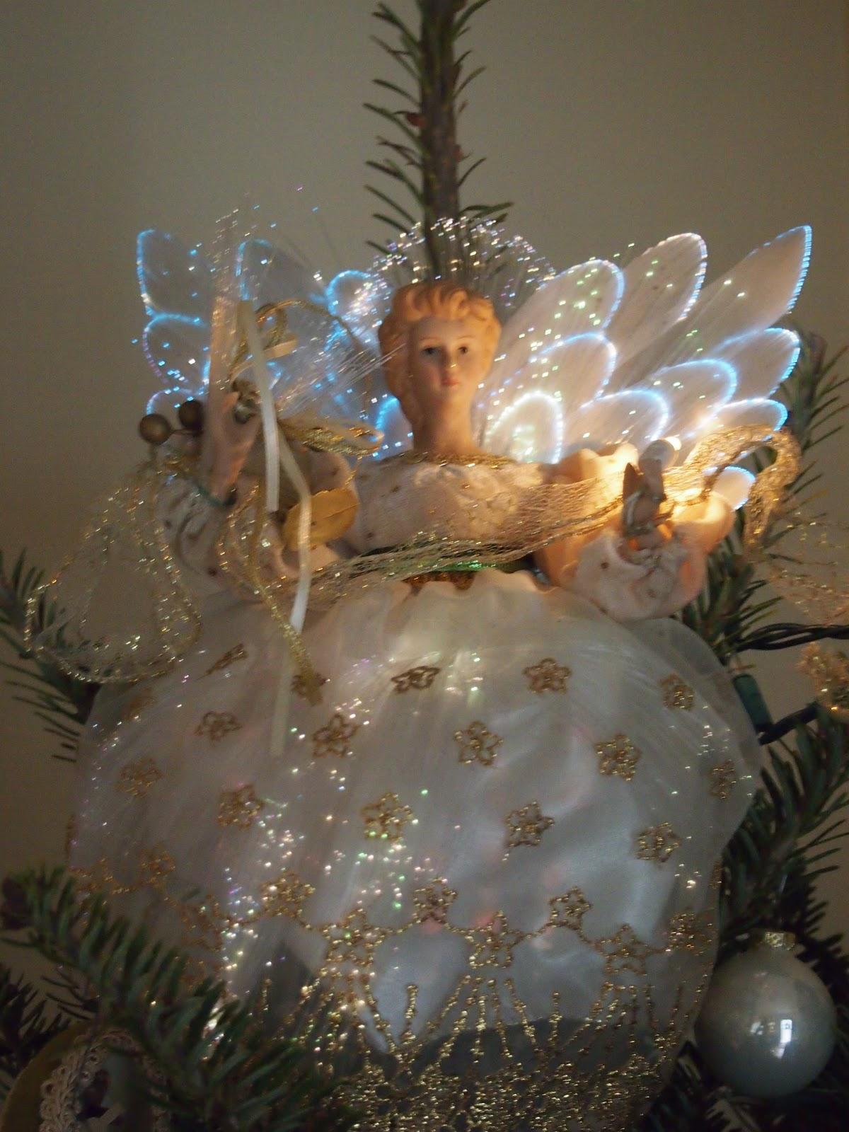4 Fiber Optic Christmas Tree