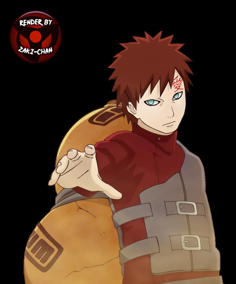 render Gaara + Naruto