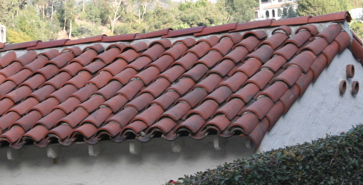 Tile roof spanish clay roof tiles Spanish clay tile