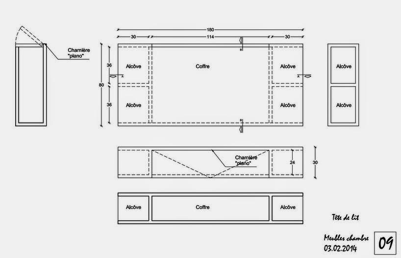 Meuble Etroit Et Haut #9: Planmeubletetedelit.jpg