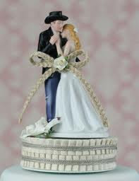 Top Western Wedding Cake Toppers