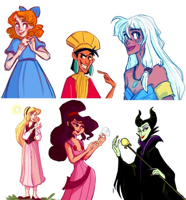Disney Characters Drawings Tumblr | Amazing Wallpapers