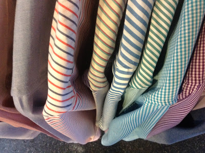 Crawford and Sons striped shirts