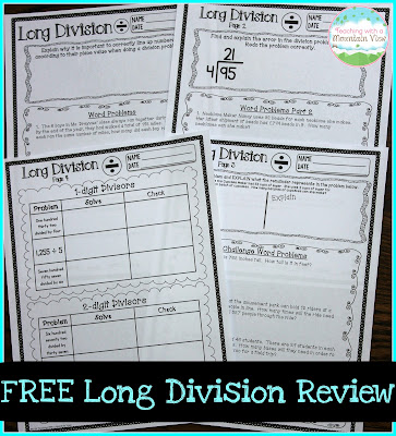 Free Long Division Review
