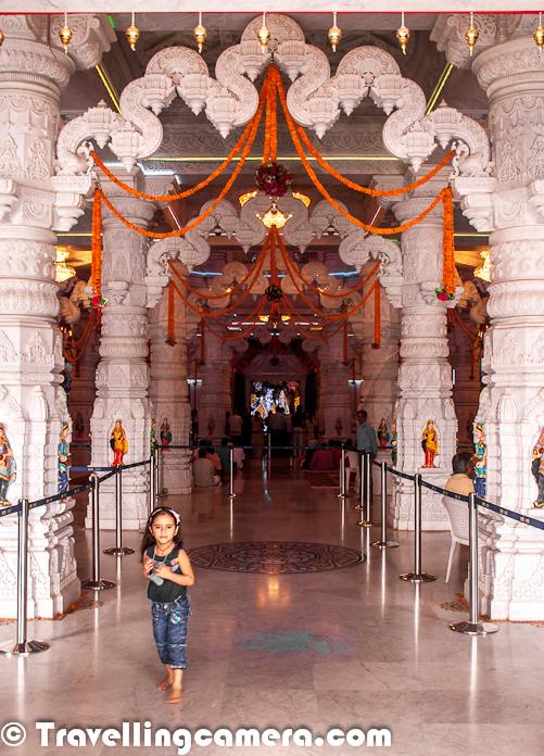 Glittering Interiors of Prem Mandir at Vrindavan, Uttar Pradesh ...