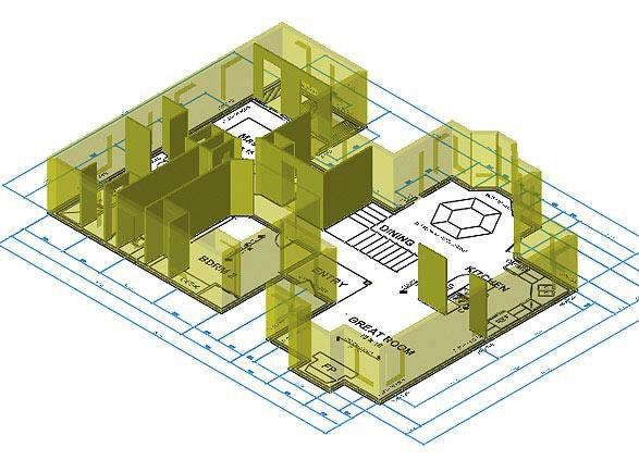 for Architecture 3d vue 3d
