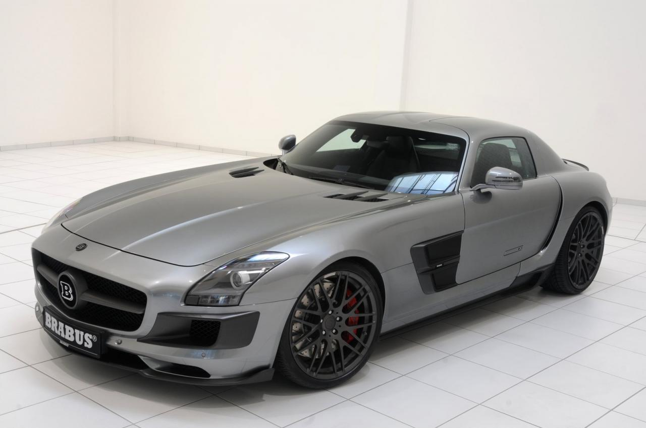 mercedes sls amg brabus 700 biturbo car tuning styling