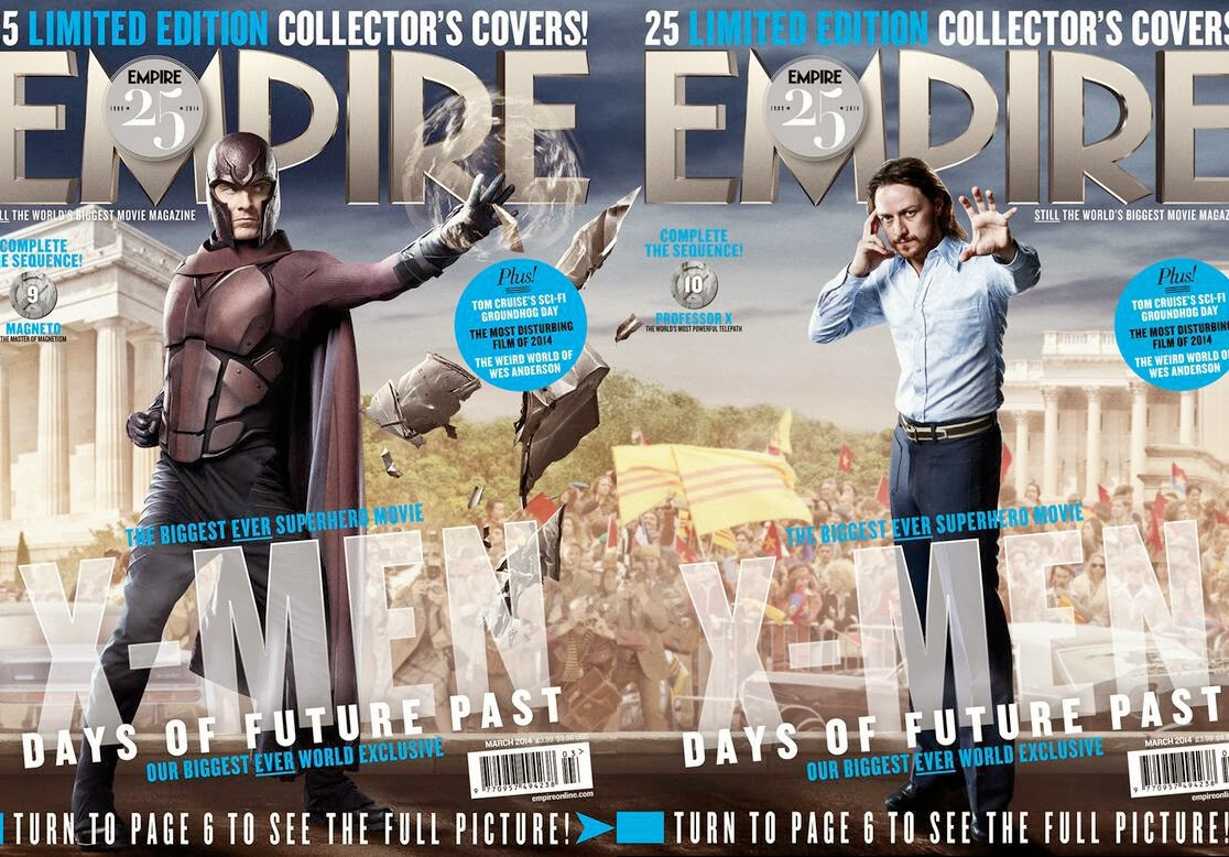 The Daily Zombies: X-Men: Days of Future Past - 25 Empire ... X Men Days Of Future Past Empire Covers