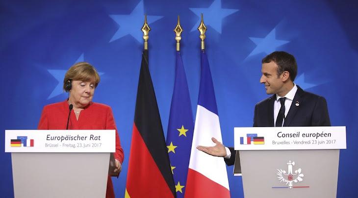 Μακρον: οταν Γαλλια και Γερμανια μιλουν με μια φωνη, η Ευρωπη μπορει να προοδευσει