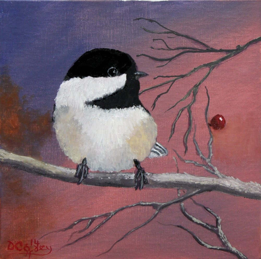 141210 - Chickadee 002a 8x8 oil on linen panel - Dave Casey - TheDailyPainter.jpg