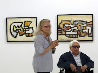 Janine y Oswaldo Vigas. Fotografía Gladys Calzadilla