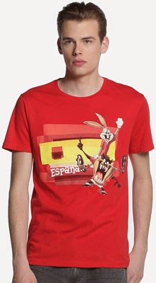 camiseta España Mundial Easy Wear El Corte Inglés