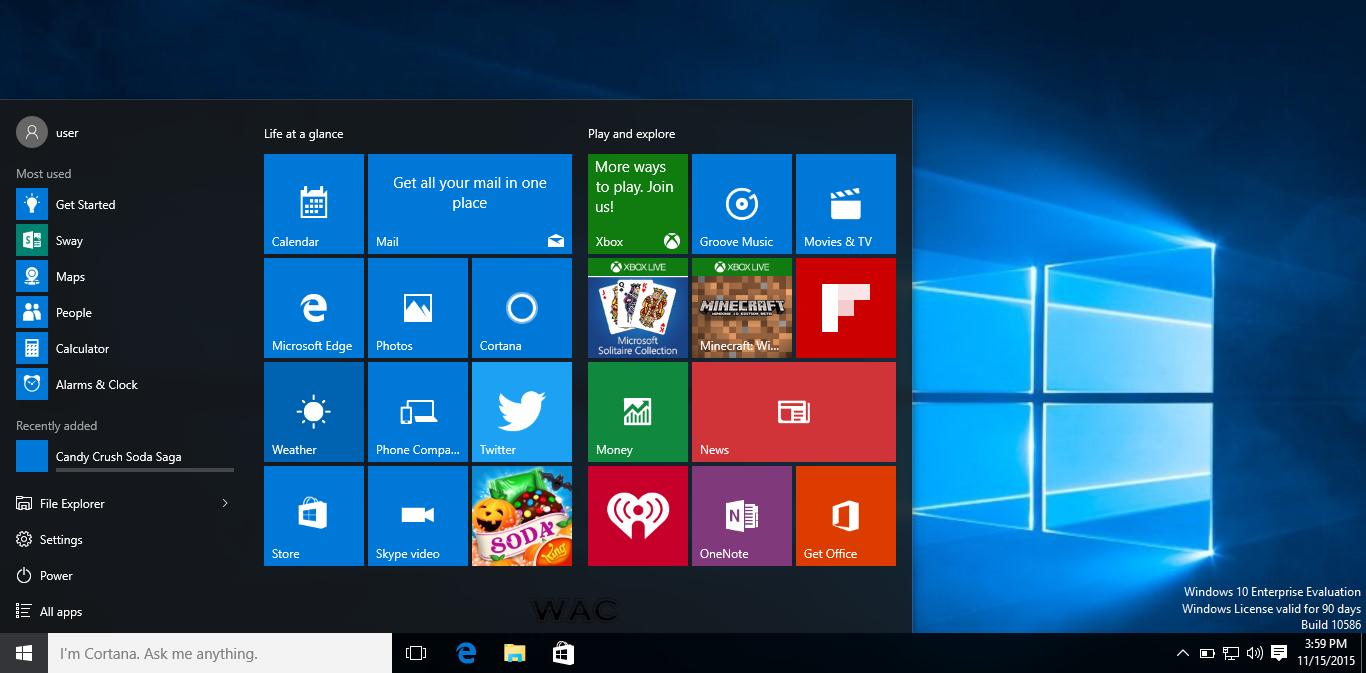 Microsoft Center Windows 10