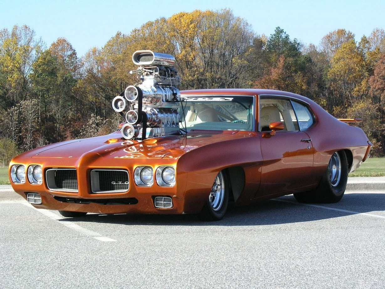 I Love Muscle Cars: Pontiac GTO With Super Power