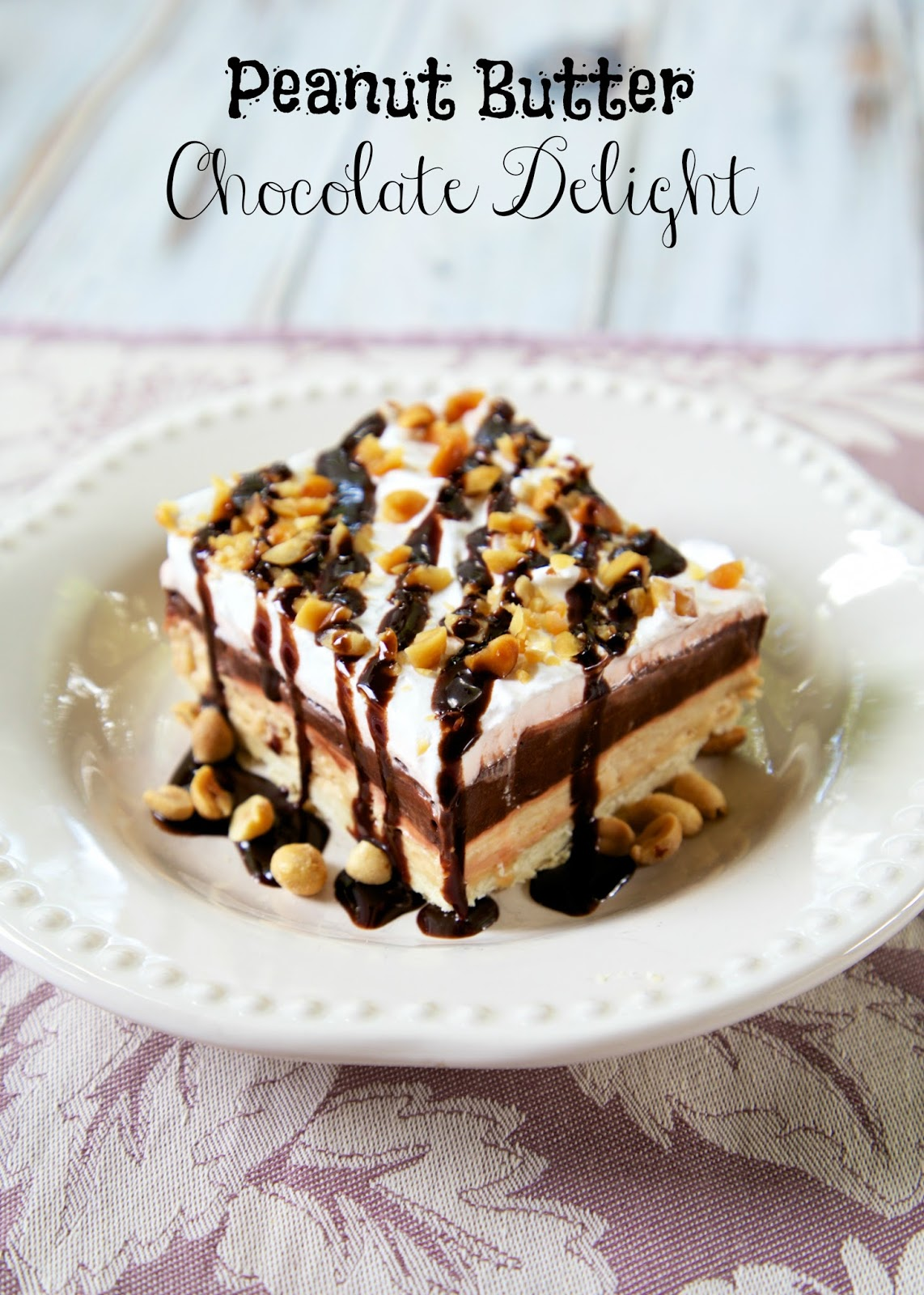 peanut butter chocolate delight dessert