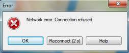 Cara Mengatasi Network error: Connection Refused ssh