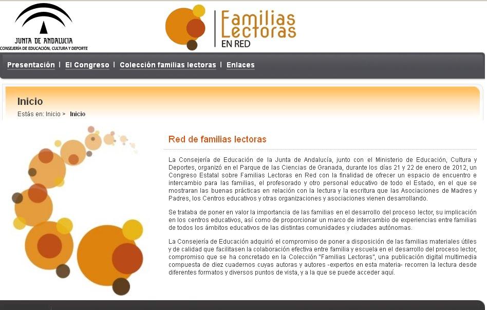 Portal Familia Lectoras