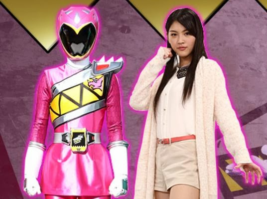 Amy Yuuzuki (Kyoryu Pink)